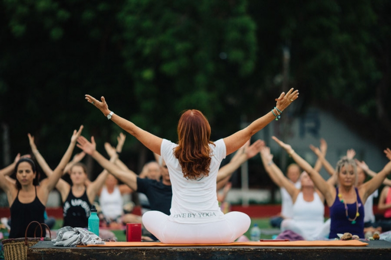 International Yoga Day 2018 in Casa de Campo